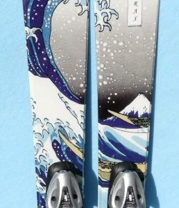 RaxSki Skater The Great Wave