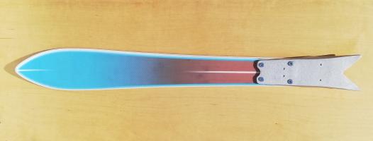Skiing shark
